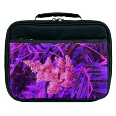 Pink And Blue Sideways Sumac Lunch Bag