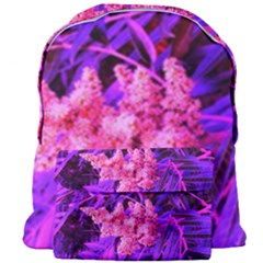 Pink And Blue Sideways Sumac Giant Full Print Backpack