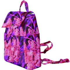 Pink And Blue Sideways Sumac Buckle Everyday Backpack