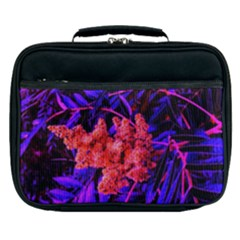 Red And Blue Sideways Sumac Lunch Bag