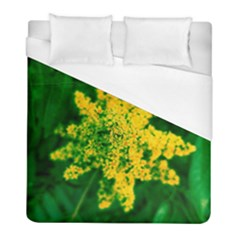 Yellow Sumac Bloom Duvet Cover (full/ Double Size)