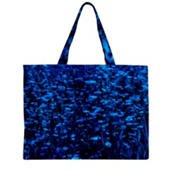 Blue Queen Anne s Lace Hillside Mini Tote Bag