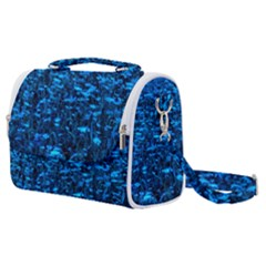 Blue Queen Anne s Lace Hillside Satchel Shoulder Bag