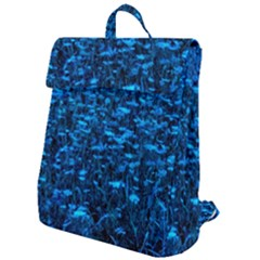Blue Queen Anne s Lace Hillside Flap Top Backpack