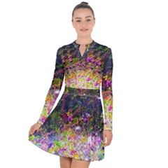 Magic Butterfly Long Sleeve Panel Dress