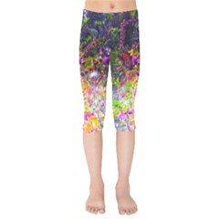 Magic Butterfly Kids  Capri Leggings