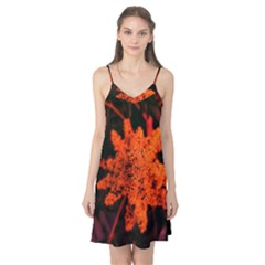 Orange Sumac Bloom Camis Nightgown