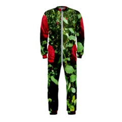 Deep Red Rose Onepiece Jumpsuit (kids)