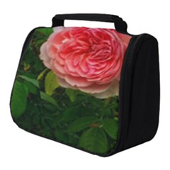 Complex Pink Rose Full Print Travel Pouch (small)