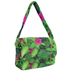 Purple Park Flowers Courier Bag