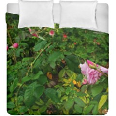 Light Pink Roses Duvet Cover Double Side (king Size)