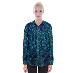 Sidewalk Flower Womens Long Sleeve Shirt