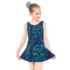 Sidewalk Flower Kids  Skater Dress Swimsuit