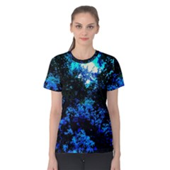 Cascade Of Flowers Women s Cotton Tee