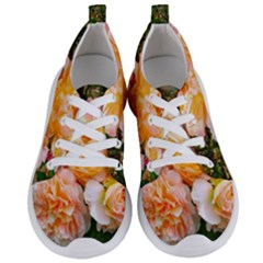 Bunch Of Orange And Pink Roses Women s Lightweight Sports Shoes