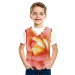 Light Orange And Pink Rose Kids  Sportswear