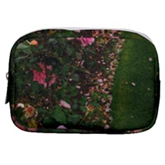 Pink Rose Field (sideways) Make Up Pouch (small)