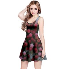 Floral Stars Reversible Sleeveless Dress
