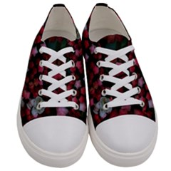 Floral Stars Women s Low Top Canvas Sneakers