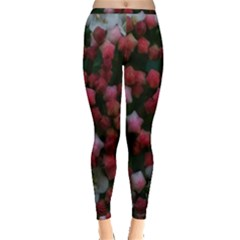 Floral Stars Inside Out Leggings