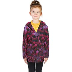 Floral Stars  Purple Coat