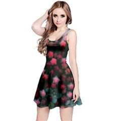 Floral Stars  Bright Reversible Sleeveless Dress