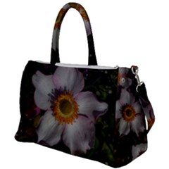 Light Purple Blossoms Duffel Travel Bag