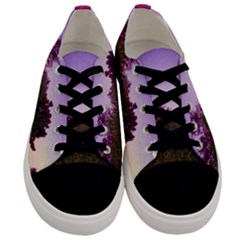 Purple Afternoon Men s Low Top Canvas Sneakers