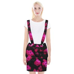 Bunches Of Roses Braces Suspender Skirt