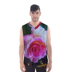 Spiral Rose Men s Basketball Tank Top