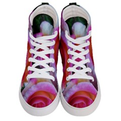Spiral Rose Women s Hi Top Skate Sneakers