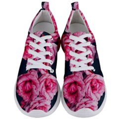 Pink Roses Ii Men s Lightweight Sports Shoes