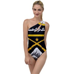 Iranian Military Mountain Warfare Badge To One Side Swimsuit by abbeyz71