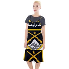 Iranian Military Mountain Warfare Badge Camis Fishtail Dress