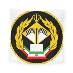 Iranian Army Badge Of Associate Degree Conscript Square Tapestry (small) by abbeyz71