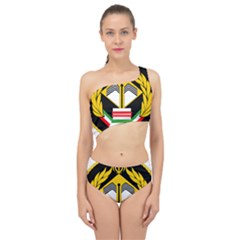 Iranian Army Badge Of Bachelor s Degree Degree Conscript Spliced Up Two Piece Swimsuit by abbeyz71