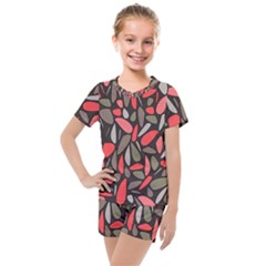 Zappwaits 24 Kids  Mesh Tee And Shorts Set by zappwaits