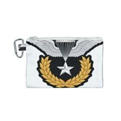 Iranian Army Parachutist Master 3rd Class Badge Canvas Cosmetic Bag (small) by abbeyz71