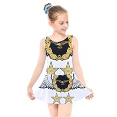 Iranian Army Aviation Pilot Second Class Wing Kids  Skater Dress Swimsuit by abbeyz71