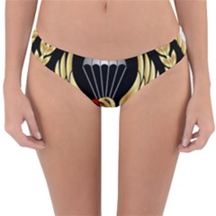 Iranian Army Parachutist Freefall Master 2nd Class Badge Reversible Hipster Bikini Bottoms by abbeyz71