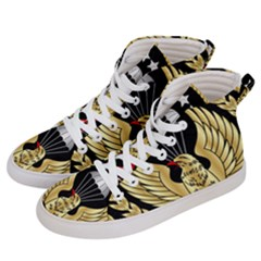 Iranian Army Parachutist Freefall Master 2nd Class Badge Women s Hi-top Skate Sneakers by abbeyz71