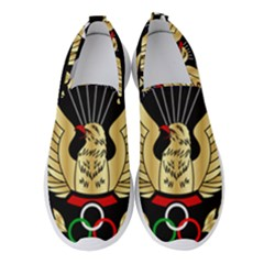 Iranian Army Parachutist Freefall Master 2nd Class Badge Women s Slip On Sneakers by abbeyz71