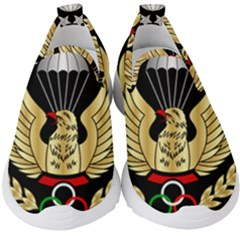Iranian Army Freefall Parachutist Master 1st Class Badge Kids  Slip On Sneakers
