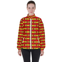 Rby 3 Women s High Neck Windbreaker by ArtworkByPatrick