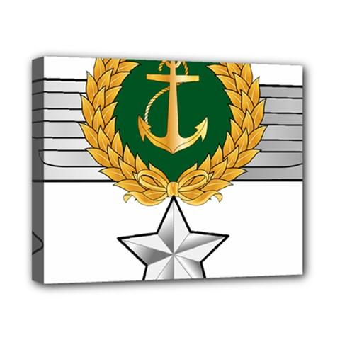 Iranian Navy Hovercraft Master Pilot   3rd Class Canvas 10  X 8  (stretched)