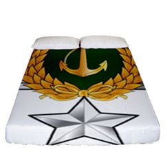 Iranian Navy Hovercraft Master Pilot - 3rd Class Fitted Sheet (california King Size) by abbeyz71