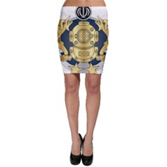 Iranian Navy Special Diver Second Class Badge Bodycon Skirt by abbeyz71