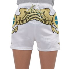 Iranian Navy Aviation Pilot Badge Third Class Sleepwear Shorts by abbeyz71