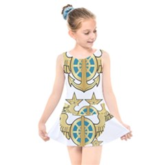 Iranian Navy Aviation Pilot Badge 2nd Class Kids  Skater Dress Swimsuit by abbeyz71