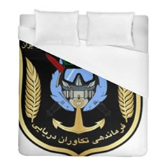 Iranian Naval Commandos Command Insignia Duvet Cover (full/ Double Size) by abbeyz71